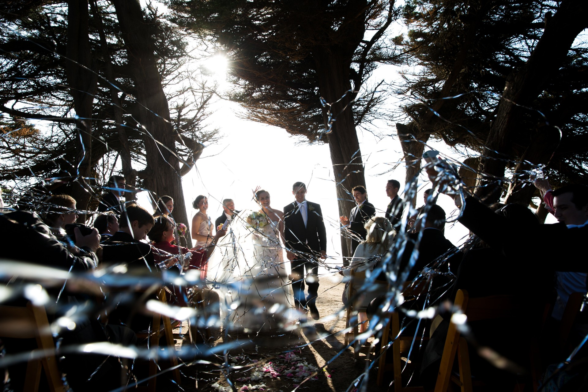Ceremony, Cypress Grove, Mendocino