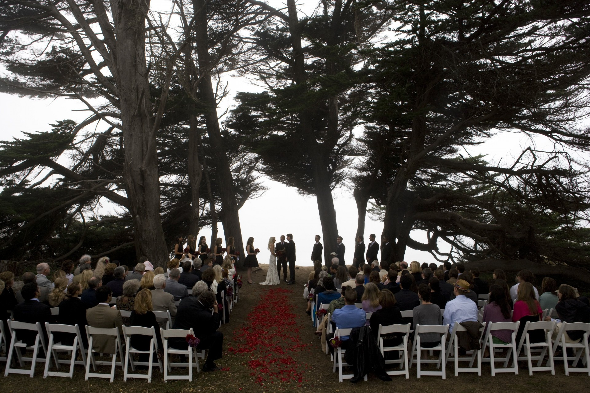 spring ranch barn and cypress grove wedding mendocino j