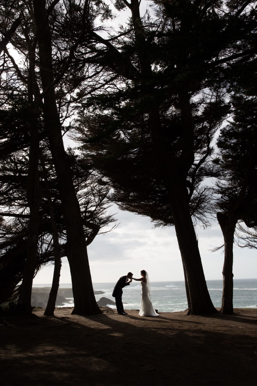 Mendocino Ocean Bluffs wedding - 22