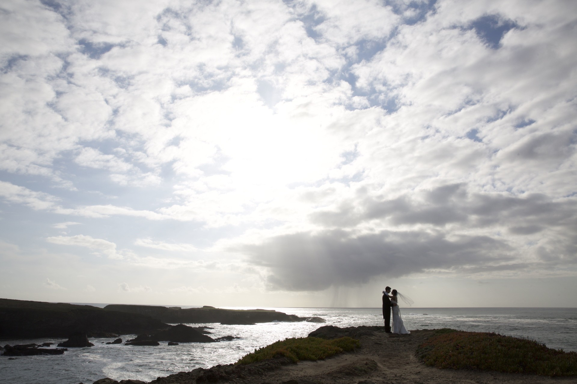 Mendocino Ocean Bluffs wedding - 25