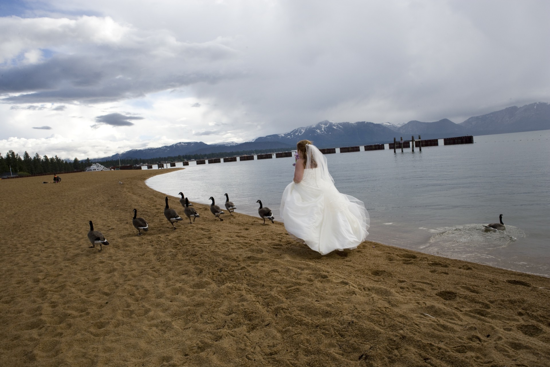 Bride, Brides Magazine, Lake Tahoe