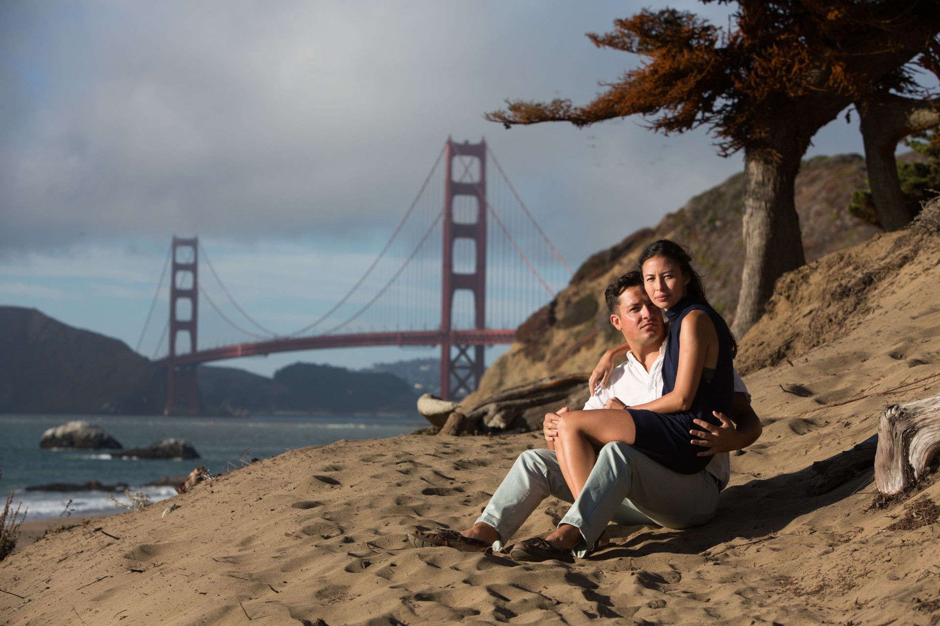 baker beach sf engagement - 16