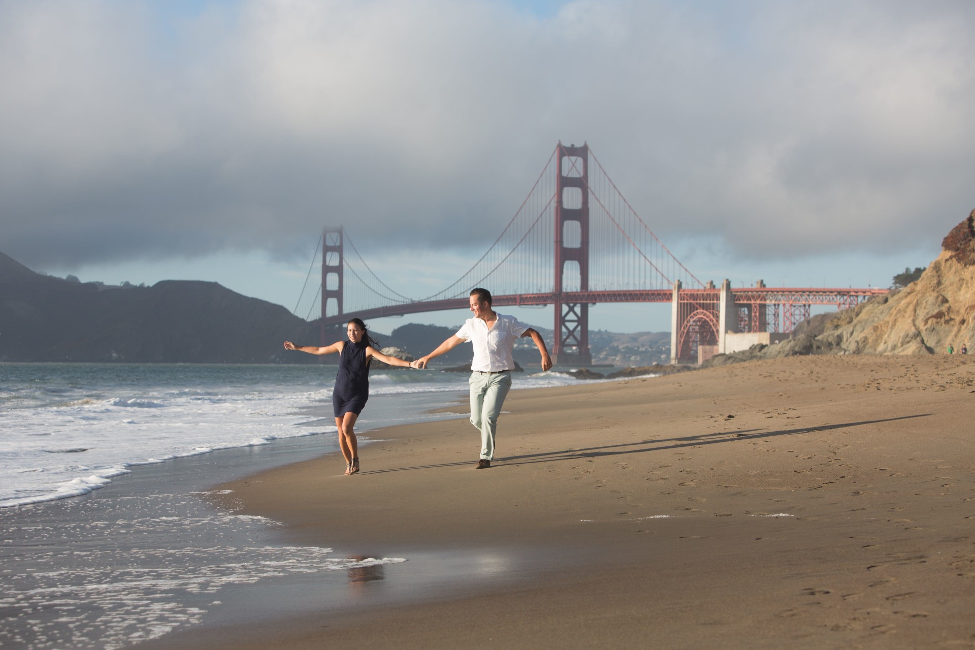 baker beach sf engagement - 23