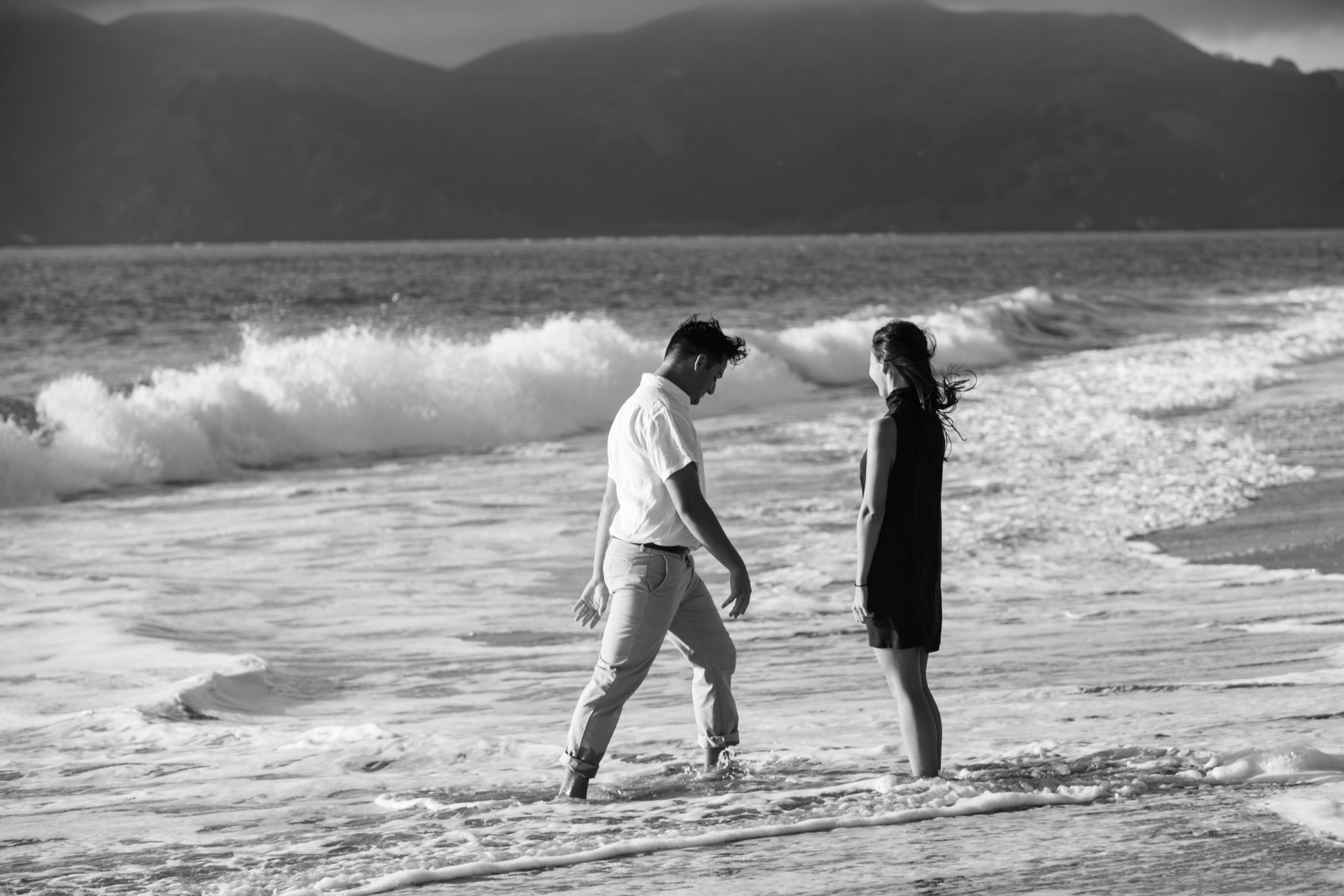 baker beach sf engagement - 25